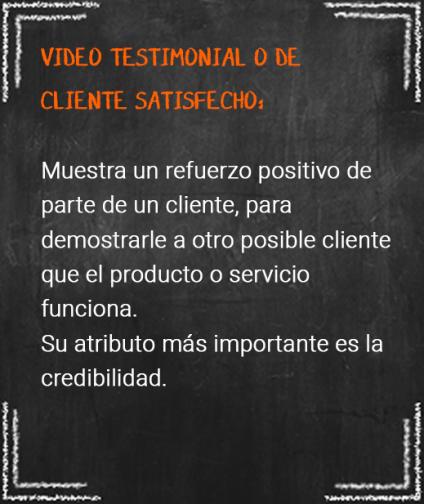 6. video testimonial