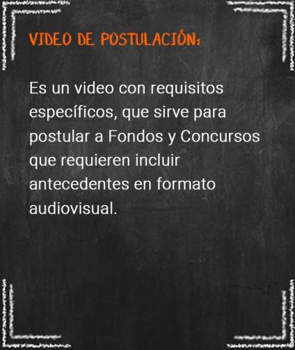 8. video de postulacion